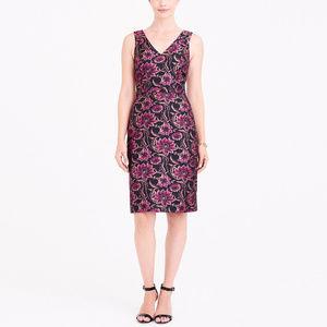 J CREW Jacquard V-Neck Dress 4, 6 & 8 NWT Party